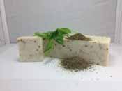 Wholesale Handmade soaploaf - spearmintbasil