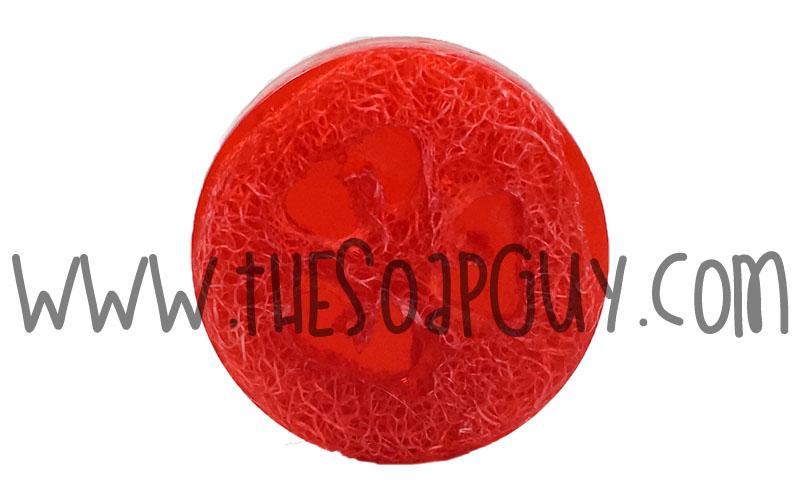 Watermelon Luffa Soap Bar