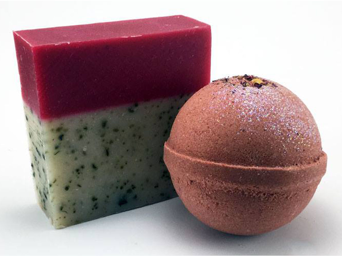 Petal Dance Bath Bomb and Soap Bar